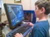 8/4 - My nephew loves the old computer I gave him.