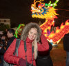 12/22 - I'm getting Natalya to be a model at the Winter Lantern Festival tonight.