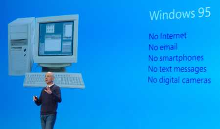 Stephen Sinofsky Announcing Windows 8