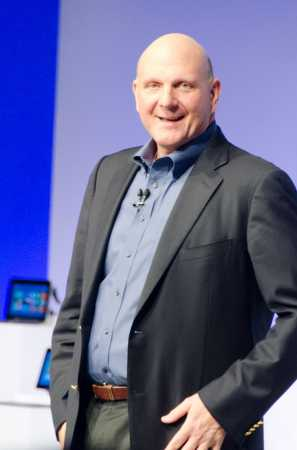Steve Ballmer Announcing Windows 8