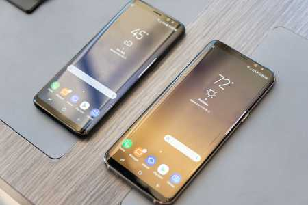 Launching the Samsung Galaxy S8