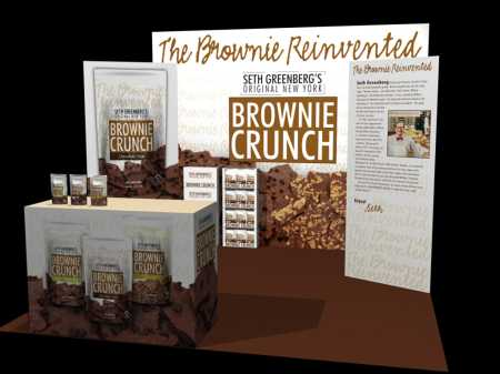 Brownie Crunch Booth