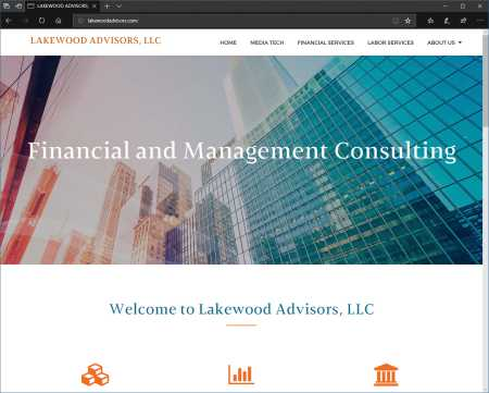 Lakewood Advisors Website