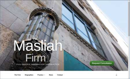 The Masliah Firm Website