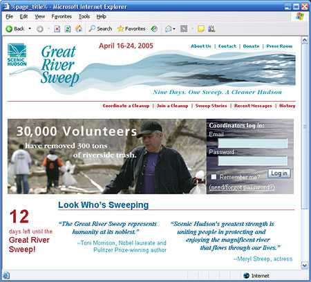 The Great River Sweep 2006